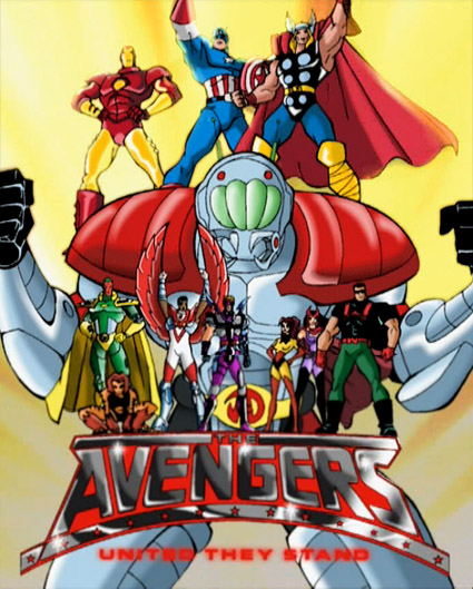 The Avengers: United They Stand (1999-2000)  PL.DVDRip.XviD+MKV-Bizanc / Lektor PL *dla EXSite.pl*