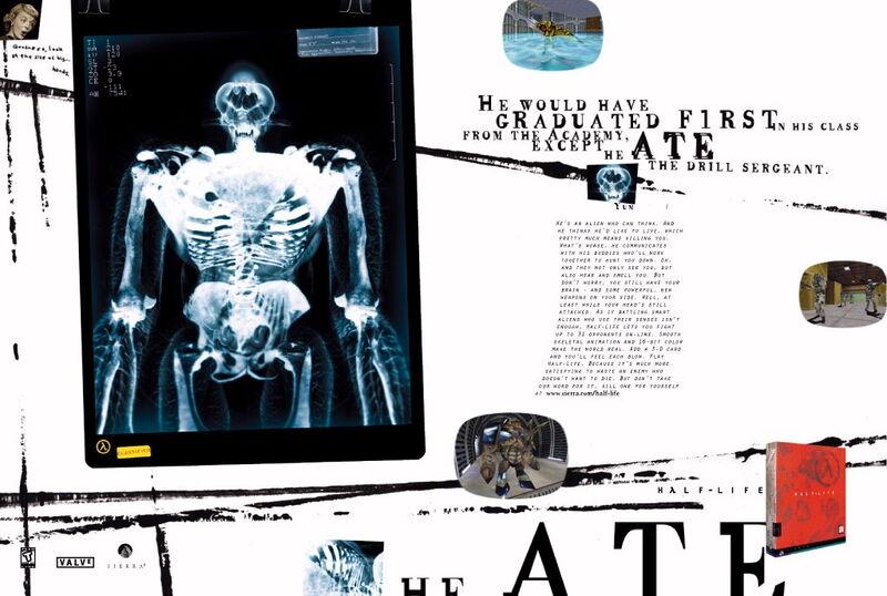 Image - Half-Life ad Alien Grunt.jpg - Half-Life Wiki