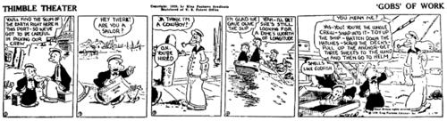 Popeye first