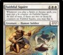 Faithful Squire // Kaiso, Memory of Loyalty