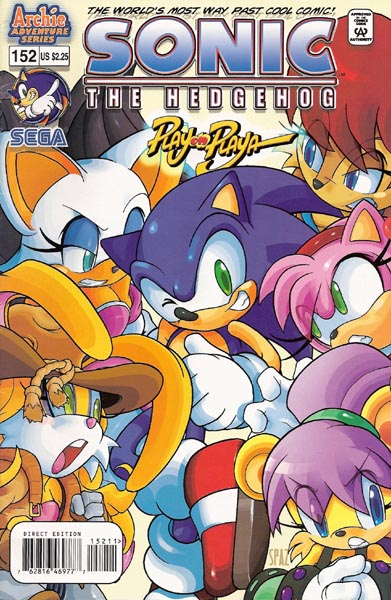 Archie Sonic The Hedgehog Issue 152 Mobius Encyclopaedia