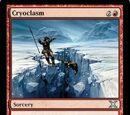 Cryoclasm