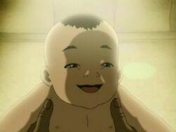 Aang as a baby