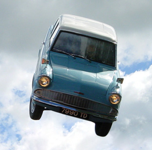 flying ford anglia harry potter wiki. Black Bedroom Furniture Sets. Home Design Ideas