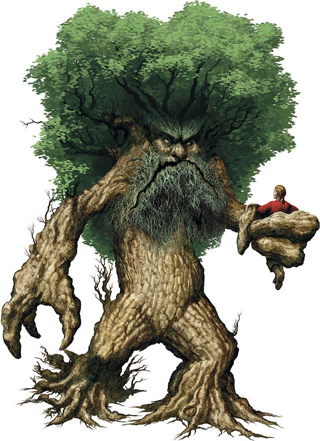 Treant on Plant Roots
