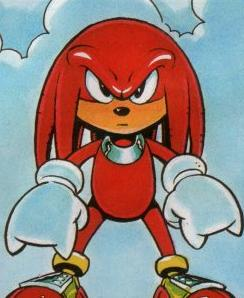 Knuckles The Echidna Sonic The Comic