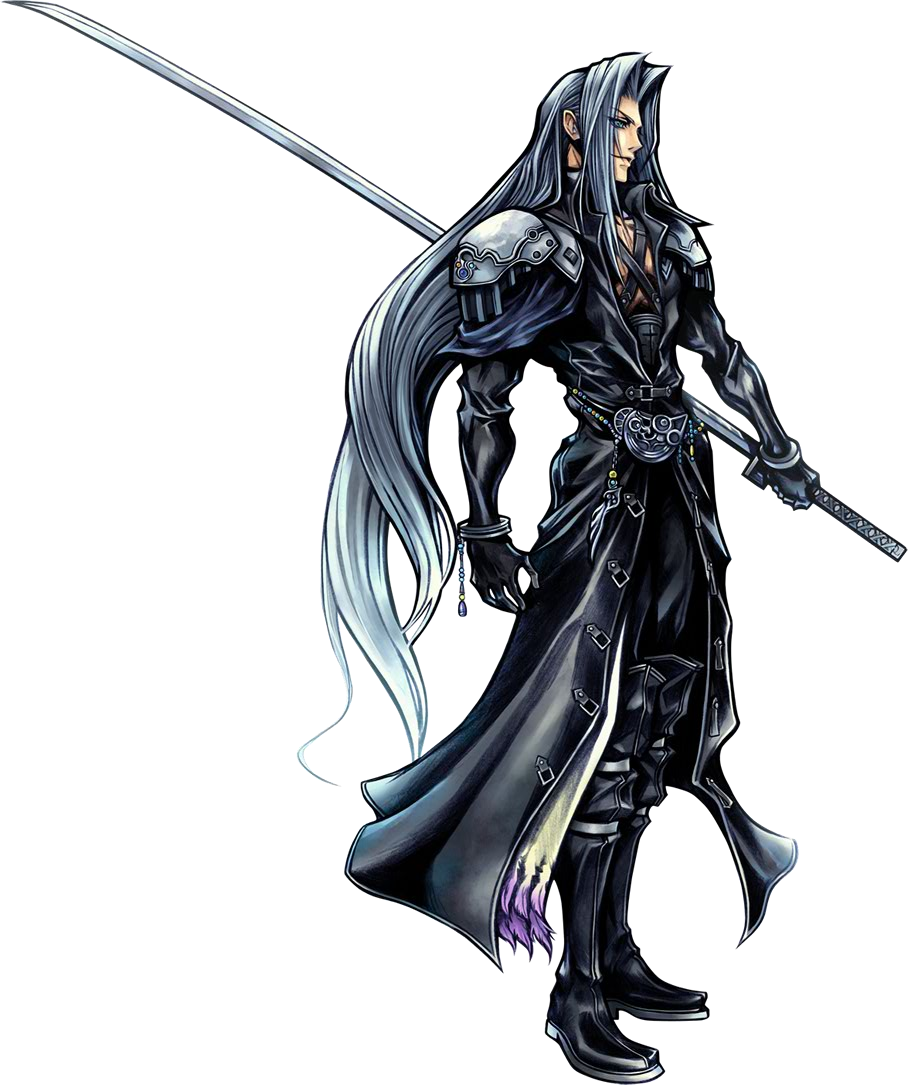 Final Fantasy Vii S Sephiroth Is The Only Thevirtuald
