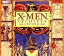 X-Men: Archives Sketchbook Vol 1 1