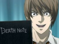 Light con death note
