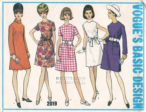 Vogue 2019 Vintage Sewing Patterns