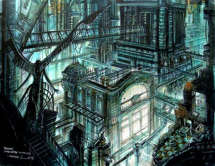 Earth the spirits within the final fantasy wiki 10 for Final fantasy 8 architecture