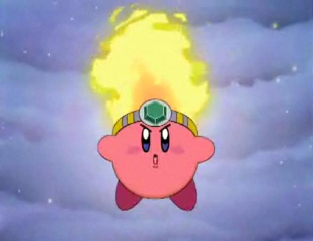 Anime Characters Kirby Wiki : Image fire kirby anime g wiki the