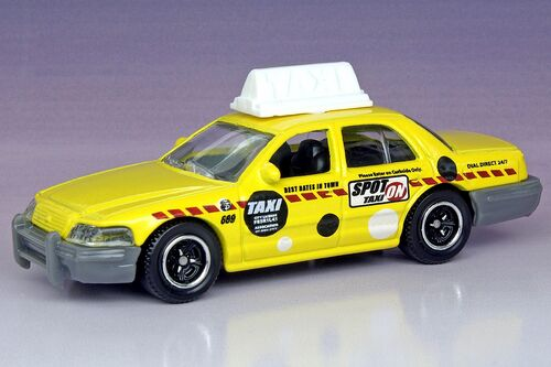 2006 Ford Crown Victoria Taxi - Matchbox Cars Wiki