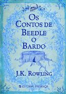 Tales of Beedle the Bard book Cover for Portugal Edition