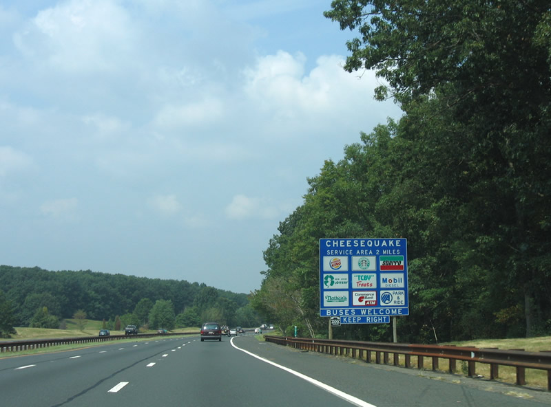 new jersey garden state parkway cheesequake rest stops and service plazas
