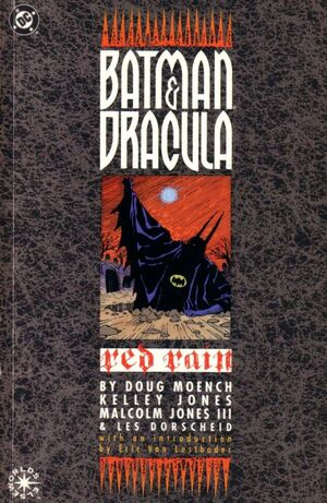 Cover for Batman and Dracula: Red Rain #1 (1991)