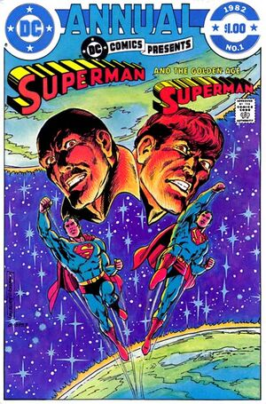Cover for DC Comics Presents Annual #1 (1982)
