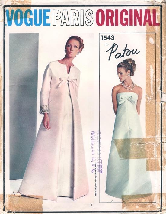 Vogue 1543 Vintage Sewing Patterns Wikia