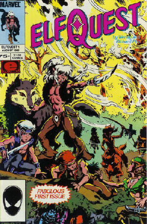 Favourite DC Comics Character (and Why) - Page 3 300px-Elfquest_Vol_1_1