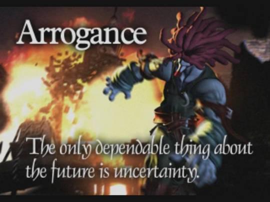 Final Fantasy IX (PS1) FFIX_Arrogance