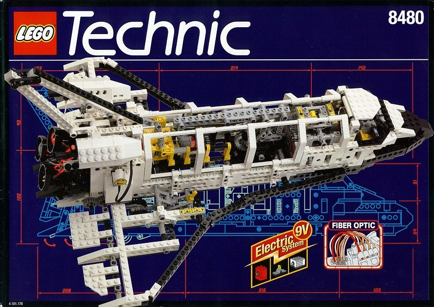 space shuttle lego technic - photo #7