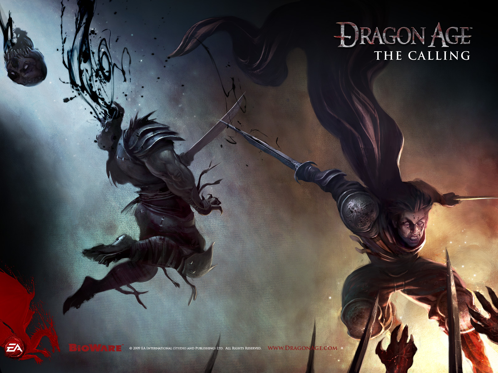 Dragon Age Origins Wallpapers: The Calling Wallpaper Full