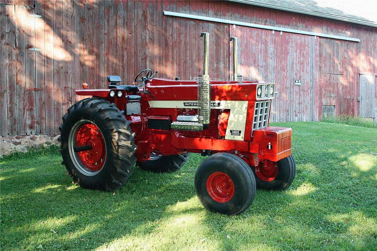 International Harvester 444 Tractor Parts : International engine diagram