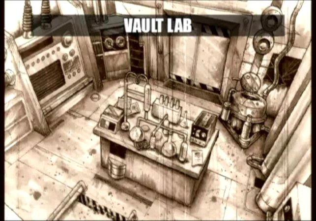 Secret vault laboratories the fallout wiki fallout for Vault of secrets