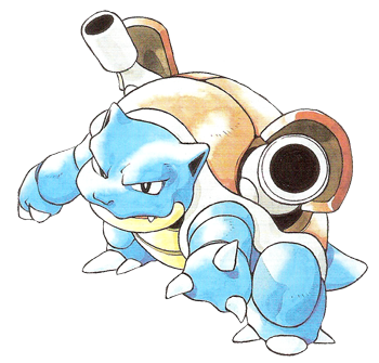 Las guías de Ere: Leonardo y Gamera (Blastoise para UU y Mega Blastoise para OU) Blastoise_en_la_primera_generaci%C3%B3n