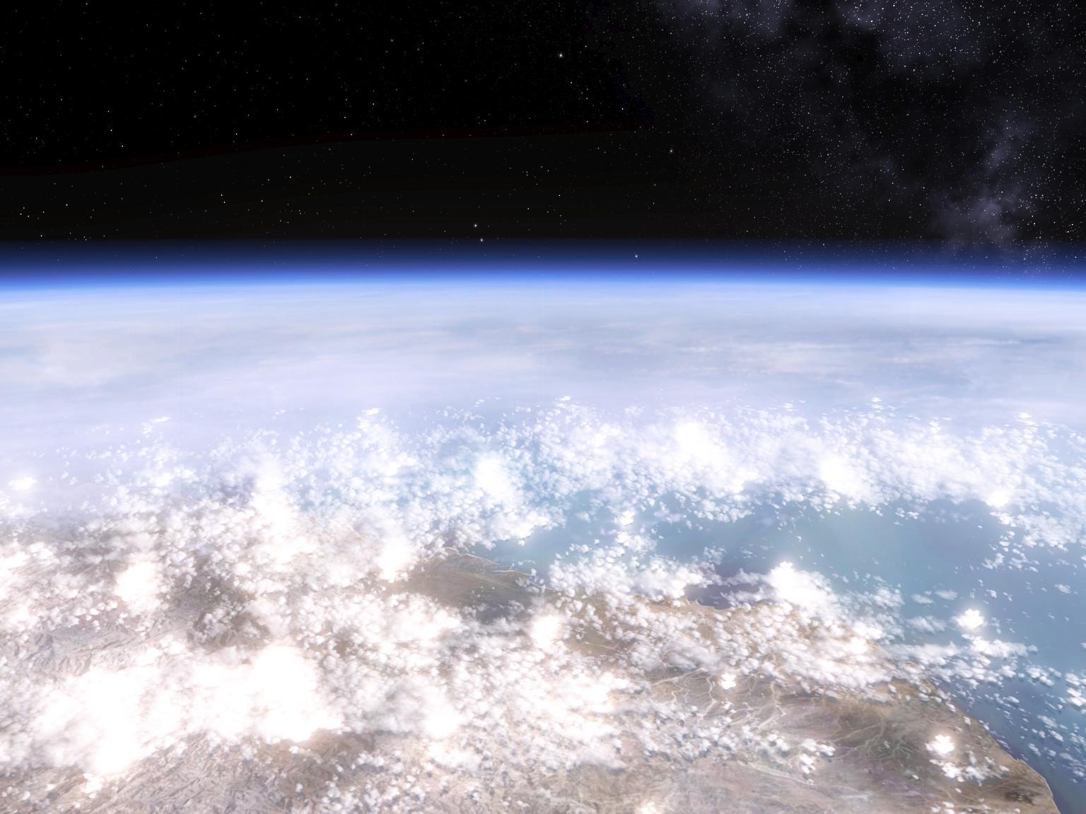 Image - Earth Orbit.jpg - Halo Nation — The Halo ...