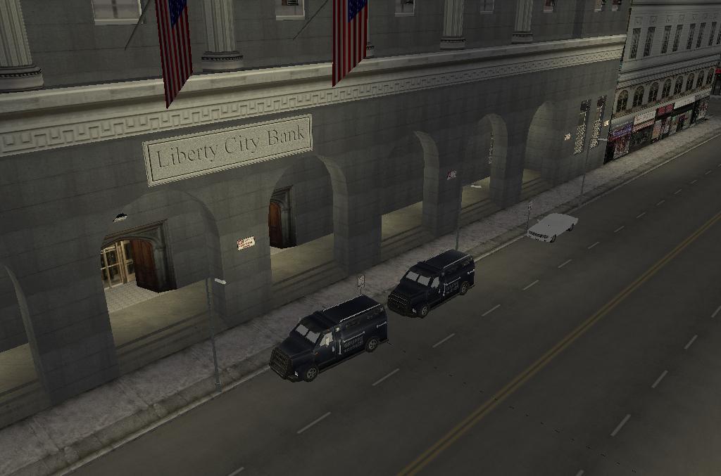 Bank of Liberty Liberty City Bank Front