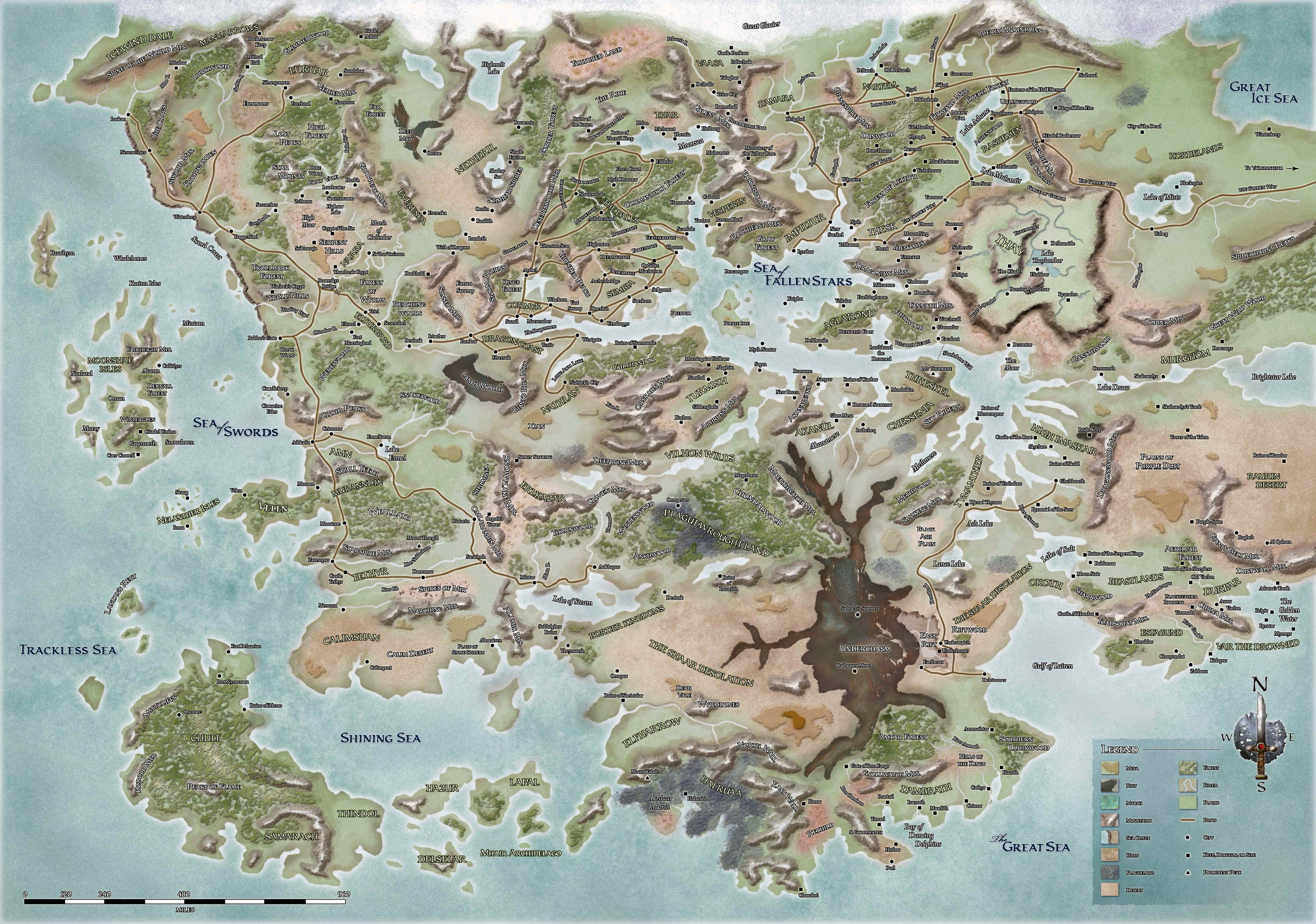 Forgotten Realms Wiki Navigation