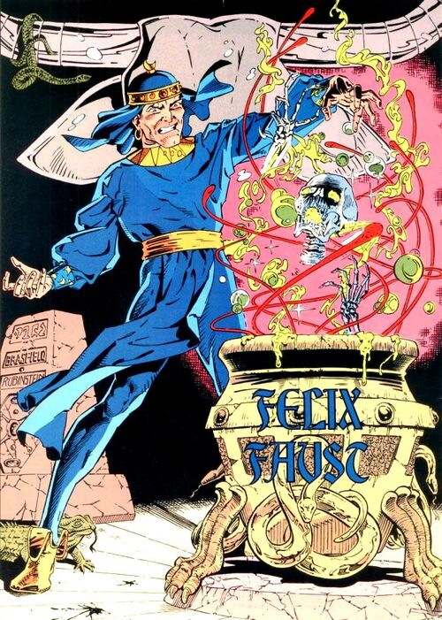 Felix Faust (New Earth) - DC Comics Database - Wikia