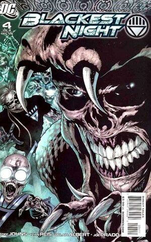 Cover for Blackest Night #4 (2009)