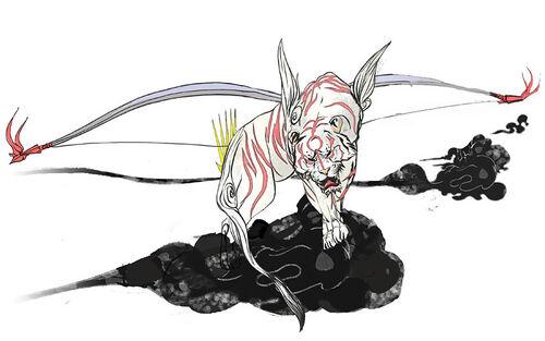 500px-Gekigami jpgOkami Yami Human