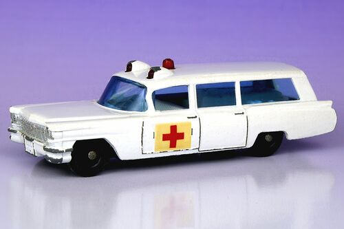 Matchbox Cadillac Ambulance Ambulance Matchbox Cars