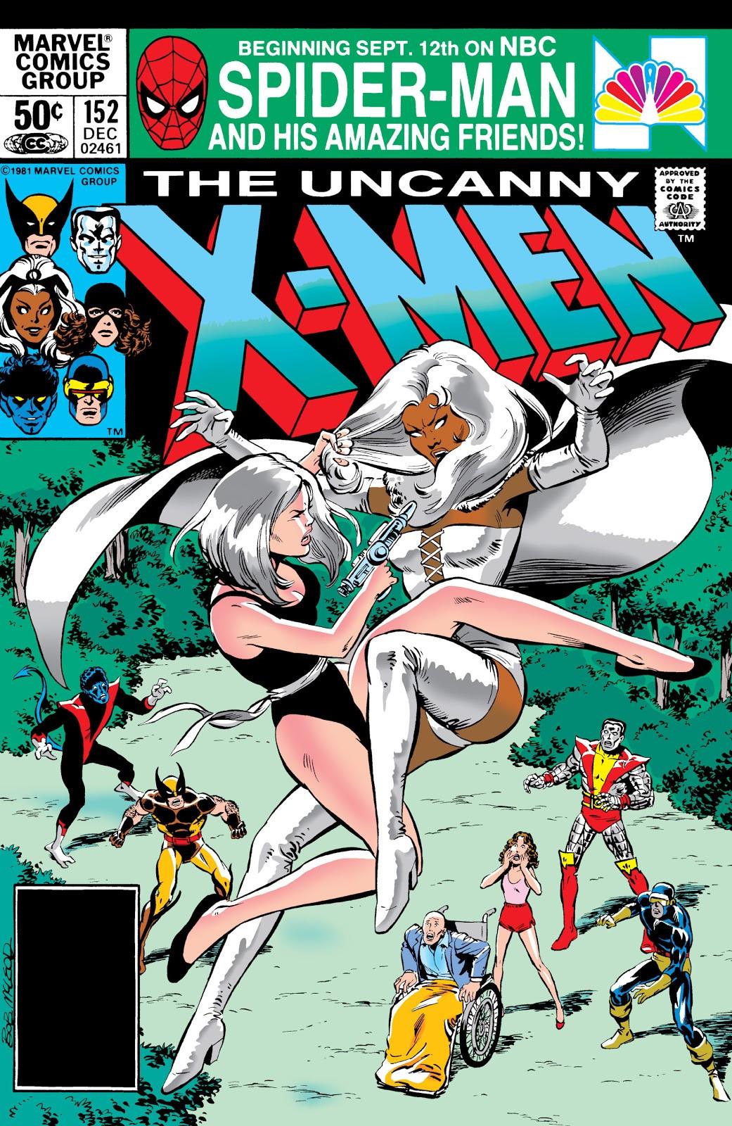 Uncanny X Men Vol 1 152 Marvel Database Wikia