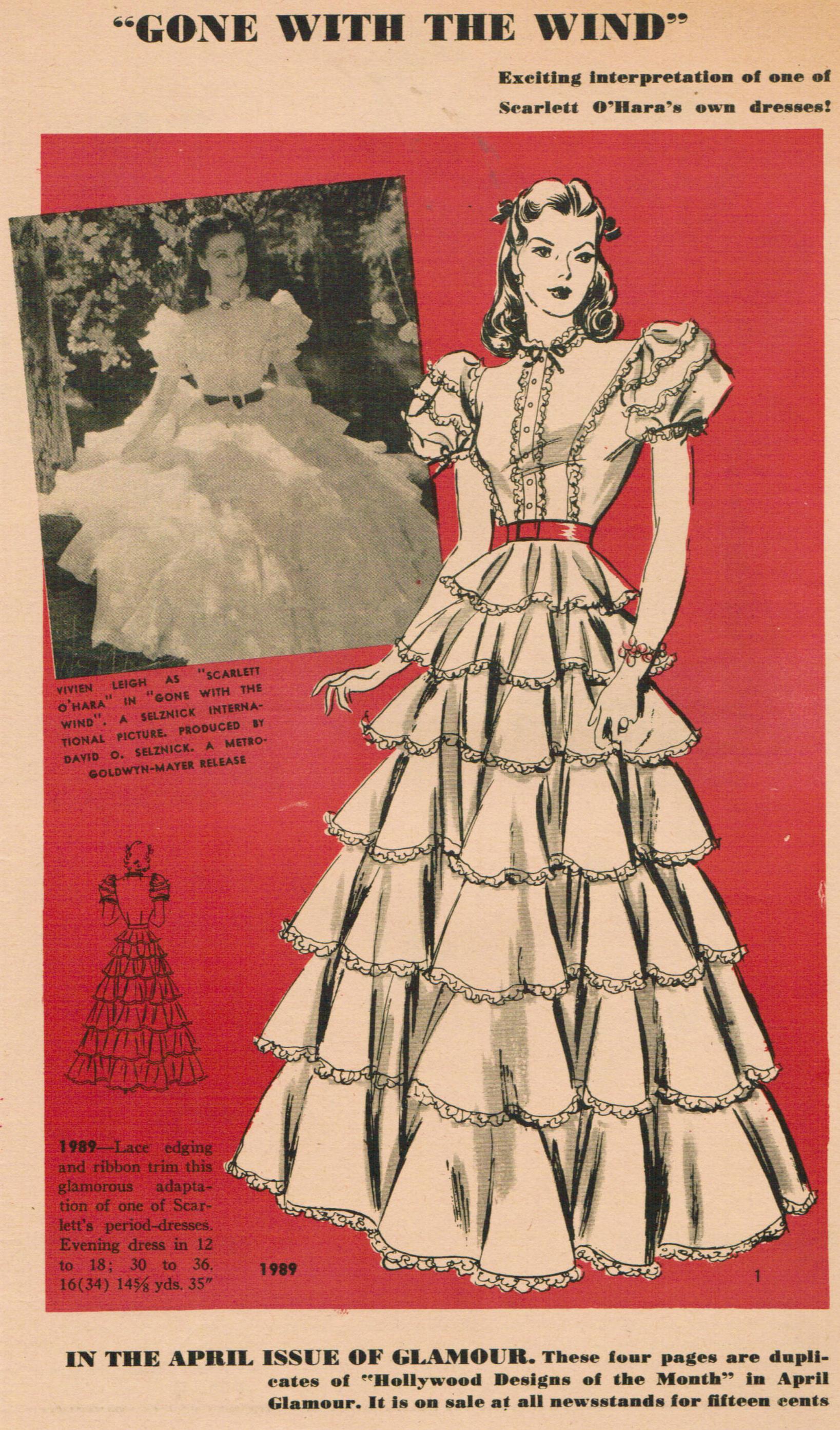 Hollywood 1989 Vintage Sewing Patterns