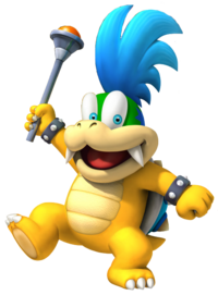 Guía New Super Mario Bros U Larry_Koopa_NSMBWii