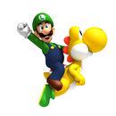 NSMBW Artwork Luigi & Yoshi.jpg