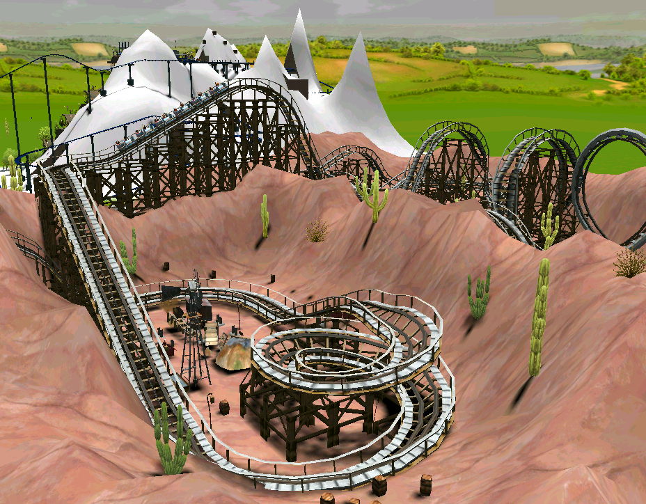 Roller Coaster Tycoon  Raise Building