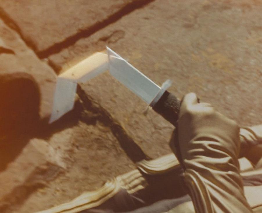 retractable sword