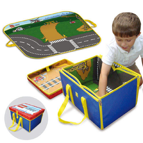 A1305XX LEGO City ZipBin Toy Box and Playmat - Brickipedia, the LEGO Wiki