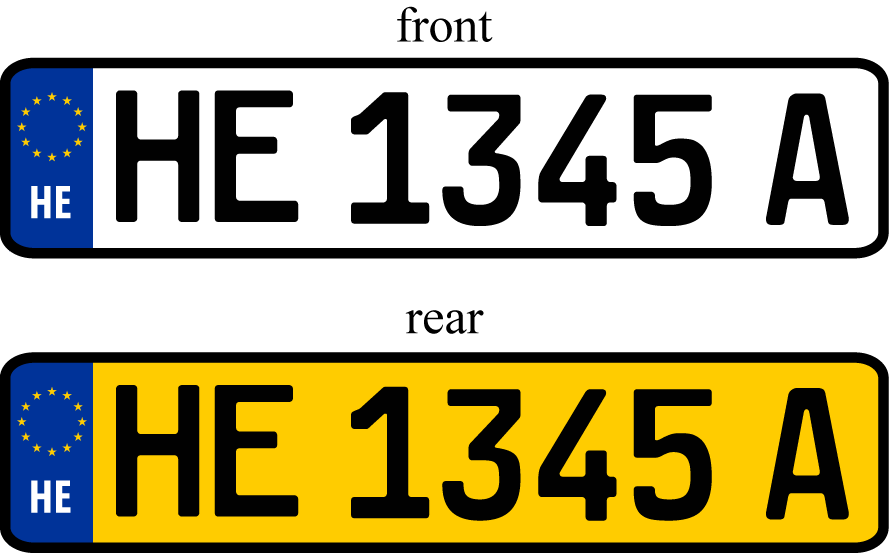 Buying New Car Number Plates