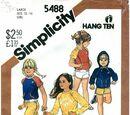 Simplicity 5488 A