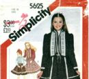 Simplicity 5625 A