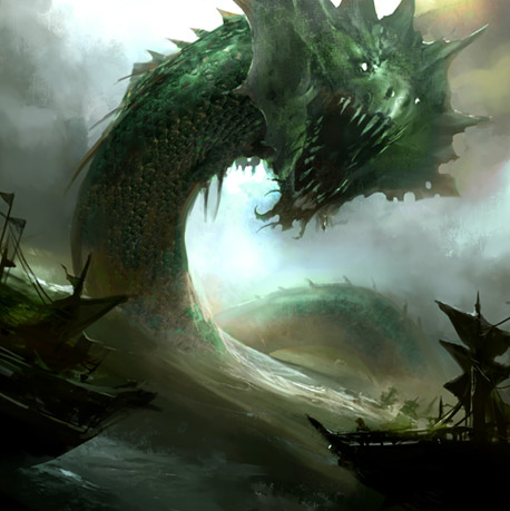 Sea Serpent - Castle Age Wiki - Quests, Heroes, Orcs, Demi ...