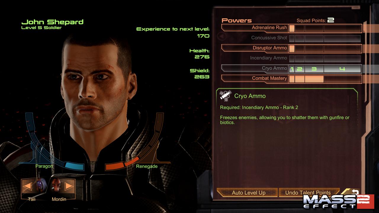 Jacob Mass Effect  Build