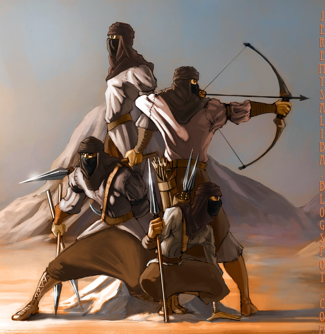 Aiel (Wheel Of Time) Vs. Dothraki (A Song Of Ice And Fire