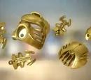 Goldene Rüstung